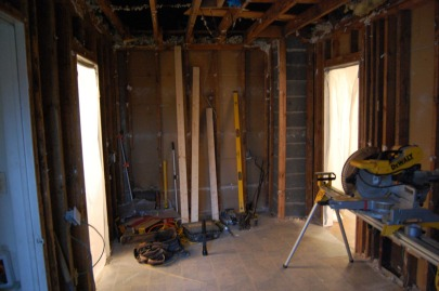 Before drywall 1