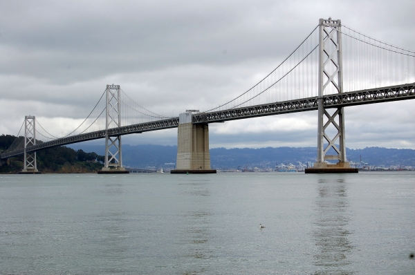 View of Bay Bridge from Ferry Building