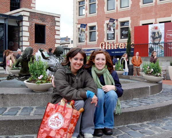In Ghiradelli Square
